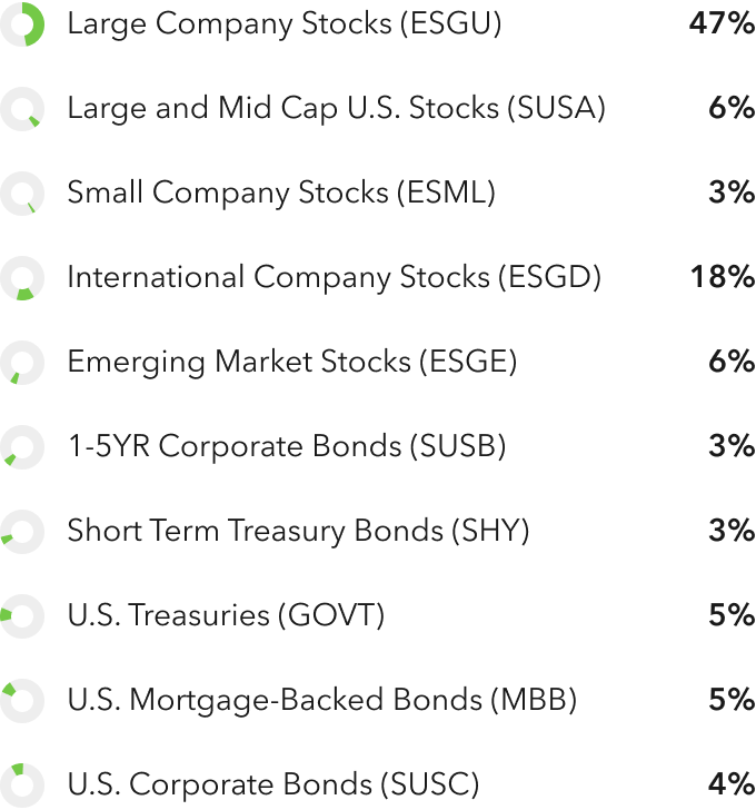 Moderately Aggressive Holdings